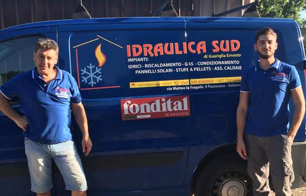 Lo Staff Idraulica Sud a Salerno