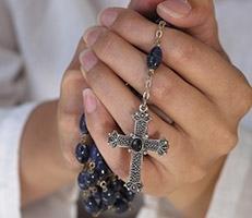Rosary beads Rome Comandini