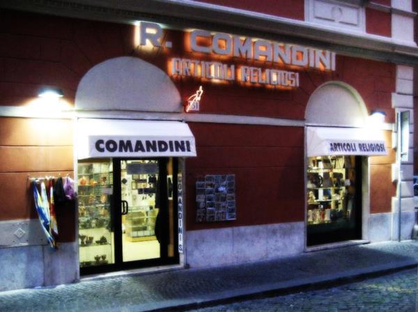 Comandini religious articles Rome