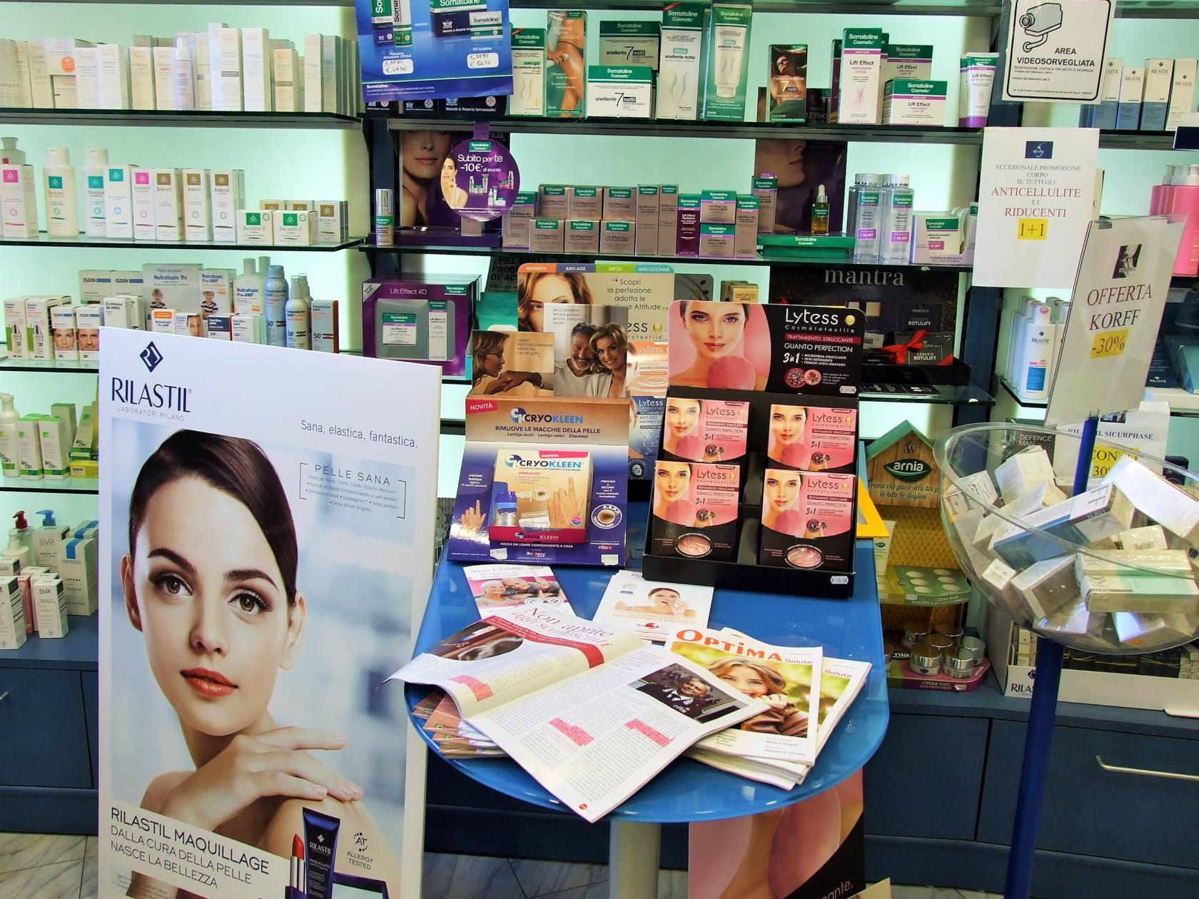 Cosmetici in farmacia