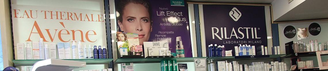 Cosmetici e prodotti farmacia