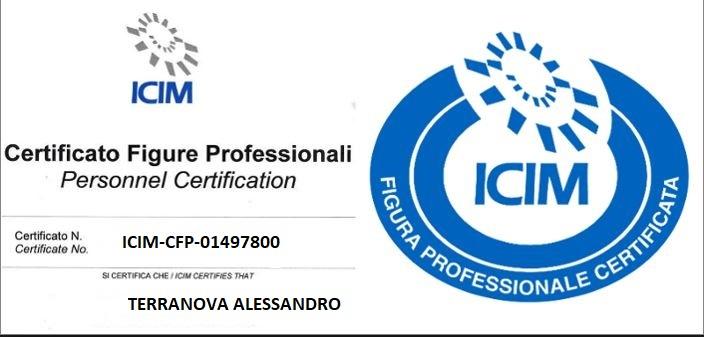 certificazione Alessandro Terranova