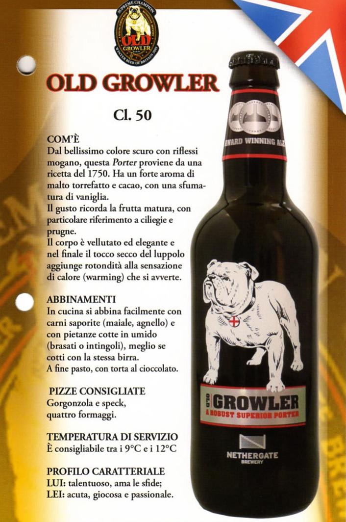 Birra Old Growler Luppolo e Farina Roma Eur Montagnola