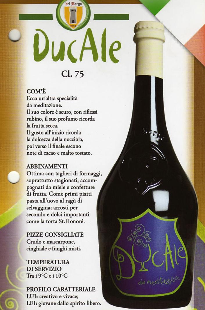 Birra Ducale Luppolo e Farina Roma Eur Montagnola