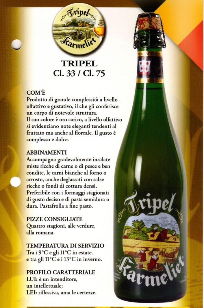 Birra Tripel Luppolo e Farina Roma Eur Montagnola