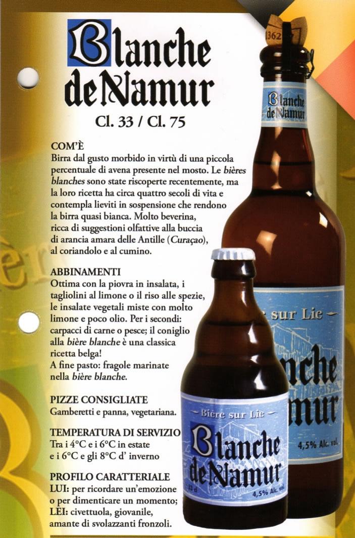 Birra Blanche de Namur Luppolo e Farina Roma Eur Montagnola