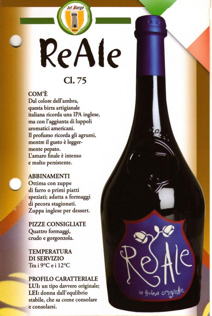 Birra Reale Luppolo e Farina Roma Eur Montagnola