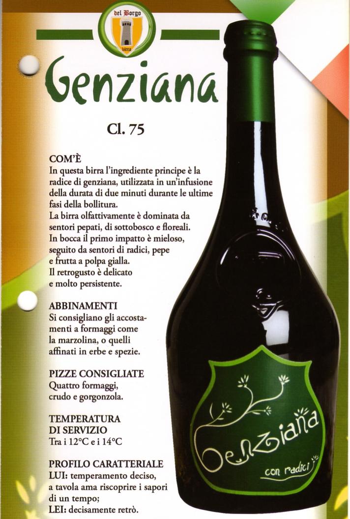 Birra Genziana Luppolo e Farina Roma Eur Montagnola