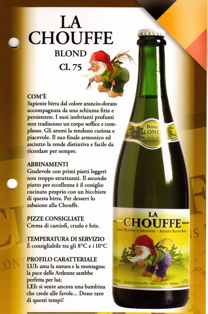 Birra La Chouffe Luppolo e Farina Roma Eur Montagnola