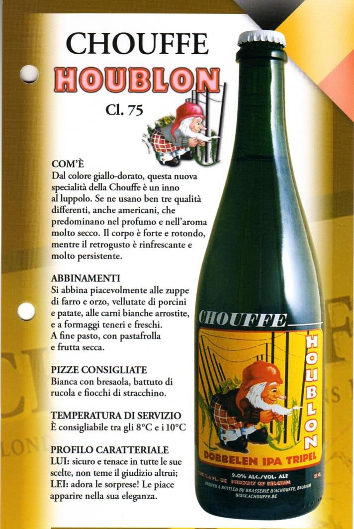 Birra Chouffe Houblon Luppolo e Farina Roma Eur Montagnola
