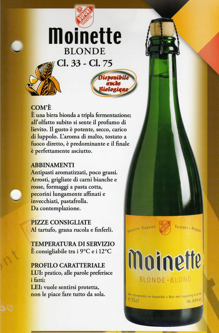Birra Moinette Luppolo e Farina Roma Eur Montagnola