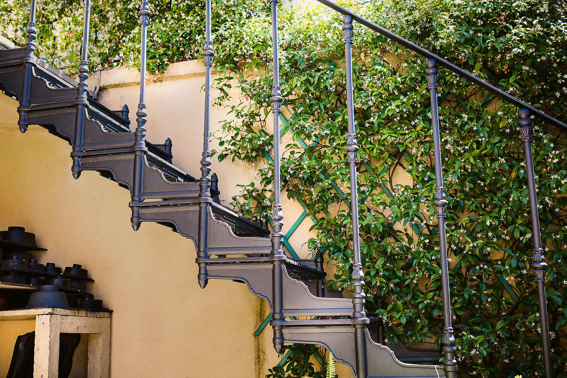 scale in ghisa fonderia carnevale roma