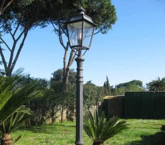 lampioni in ghisa roma