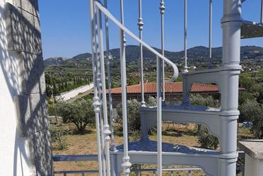 scale a chiocciola in ghisa fonderia carnevale roma