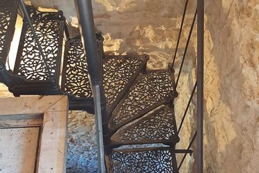scale a giorno in ghisa fonderia carnevale roma