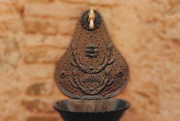 fontane in ghisa fonderia carnevale roma