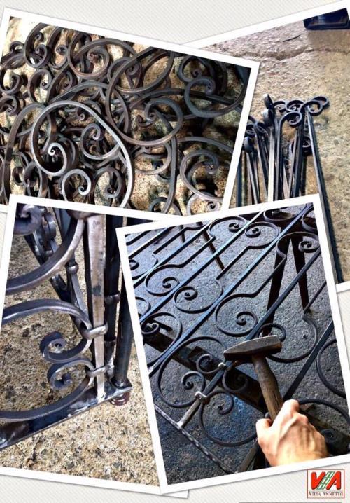 Ringhiere in ferro