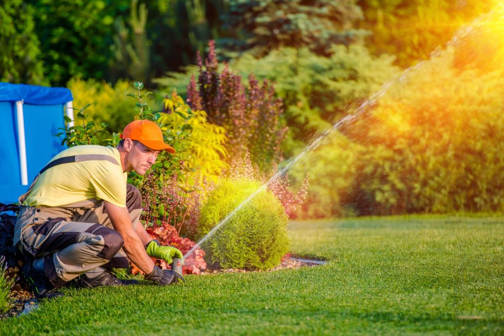 Manutenzione di giardini pubblici e privati