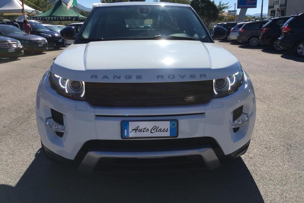 Range Rover Evoque Autoclass ad Atena Lucana Salerno