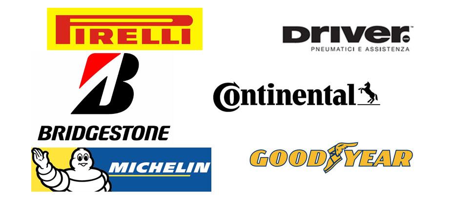Vendita Pneumatici Continental Goodyear Michelin Pirelli Driver Bridgestone