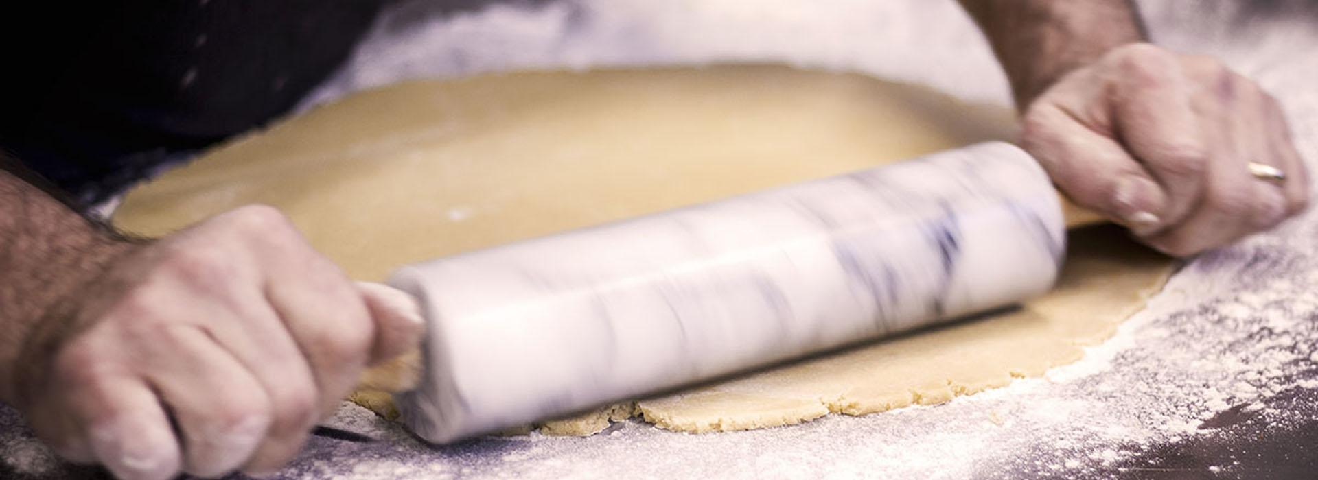 Pizza cotta con forno a legna