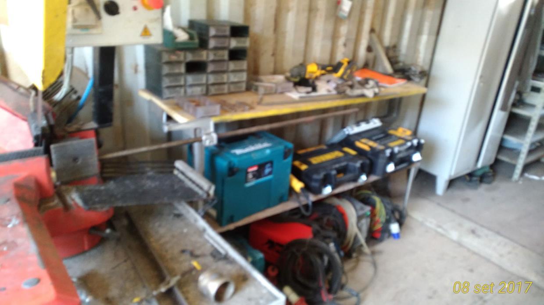 Uno dei nostri containers officina per cantieri
