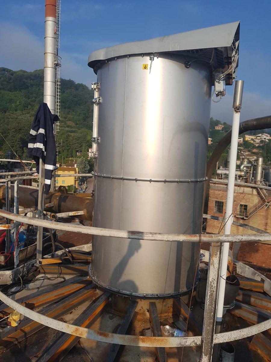 Installazione filtri e depolveratori