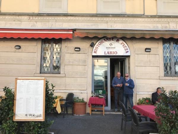 ristorante pizzeria Como