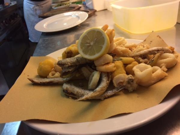 ristorante di pesce Como
