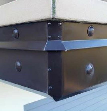 Rivestimento cornicione balcone