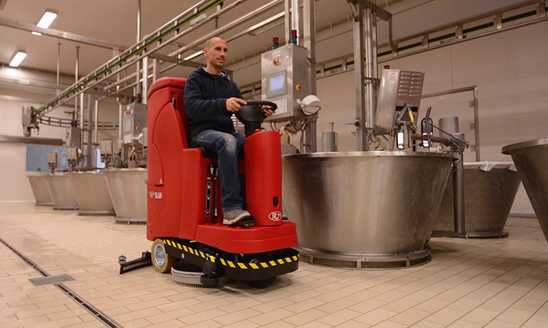 Lava Pavimenti Industriale O.P.P. Service a Frosinone