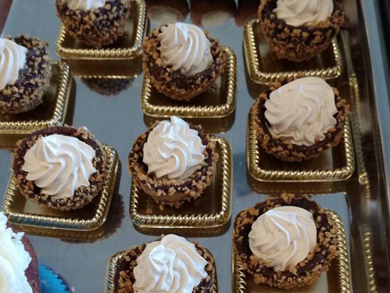 Pasticcini cioccolato e panna
