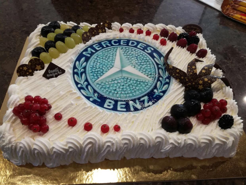 Torta Mercedes Benz