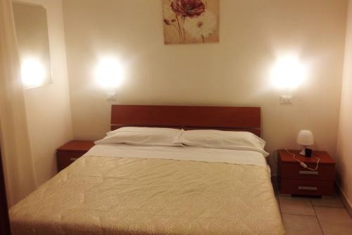Camera da Letto Hotel Residence Vapore a Gatteo a Mare Forli-Cesena