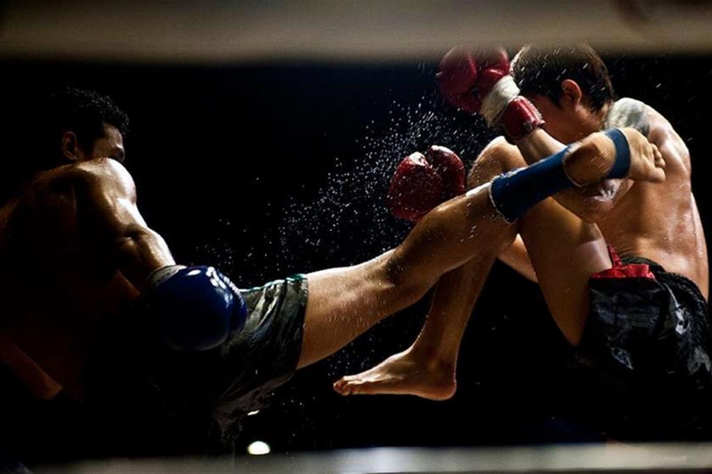 Muay thai, arti marziali, combattimento, wellness evolution, imperia