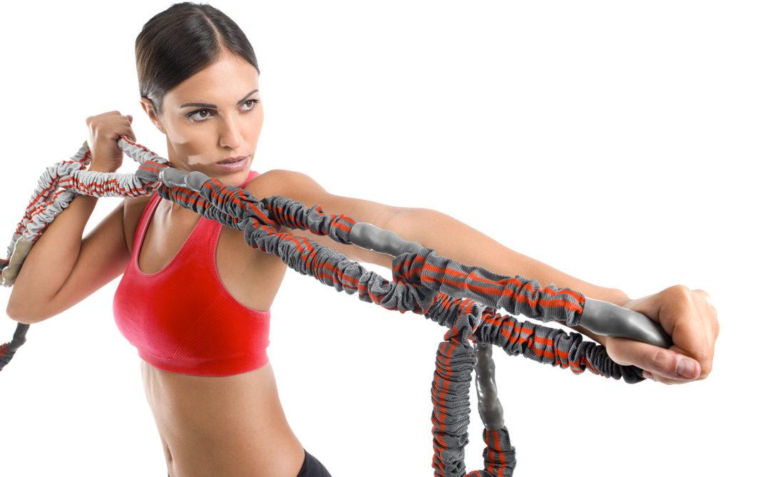 Revoring, elastici, anelli, alta intensità, allenamento in sospensione, fatica, wellness evolution, imperia