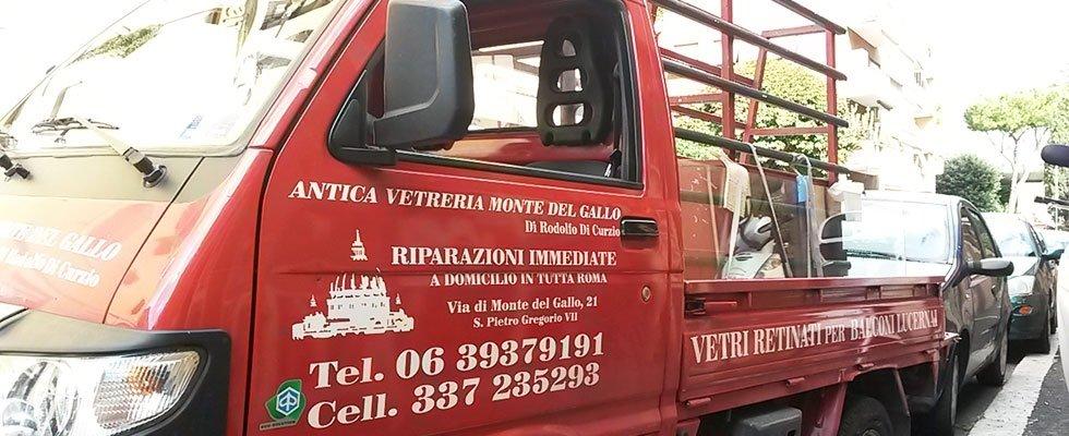 riparazione vetri e vetrine roma e provincia