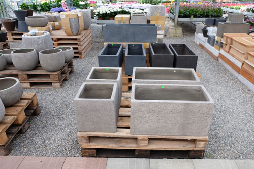 vasi in cemento da esterno bergamo