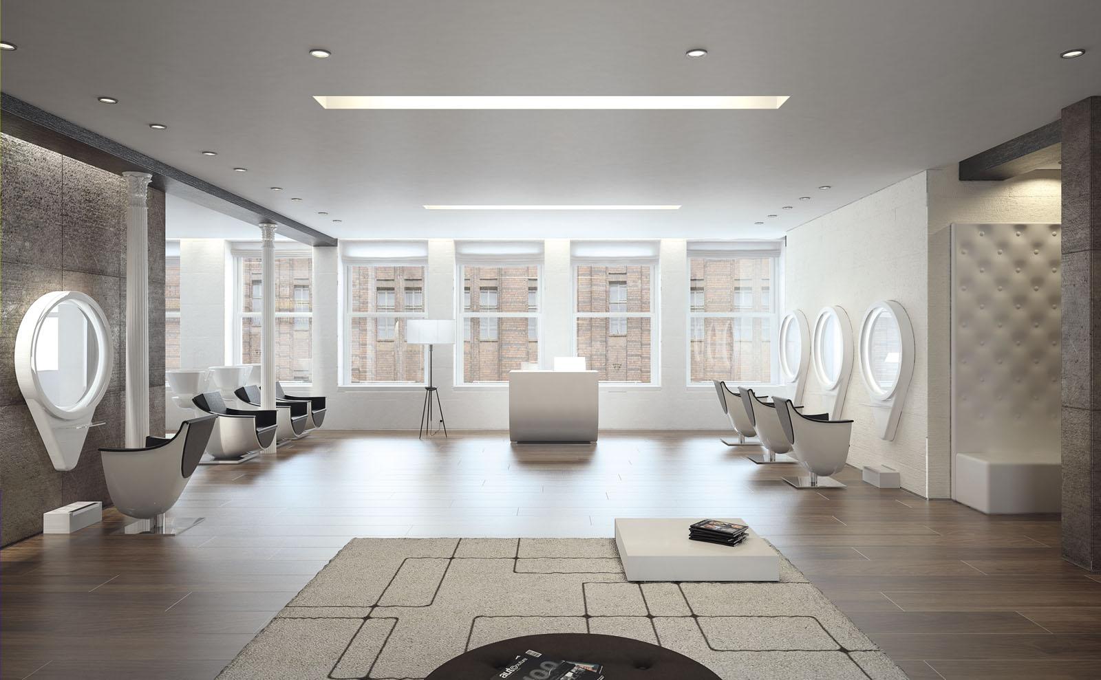 arredamento saloni di bellezza