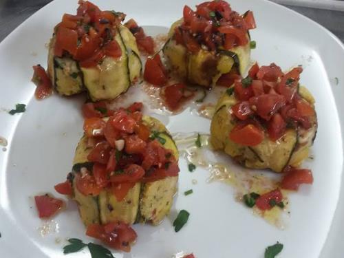 Tortino con verdure
