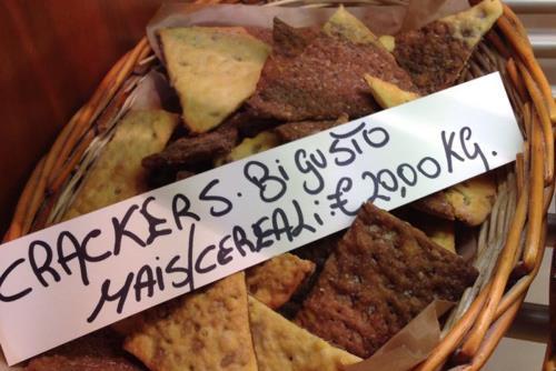 Crackers Panificio Steric a Livorno