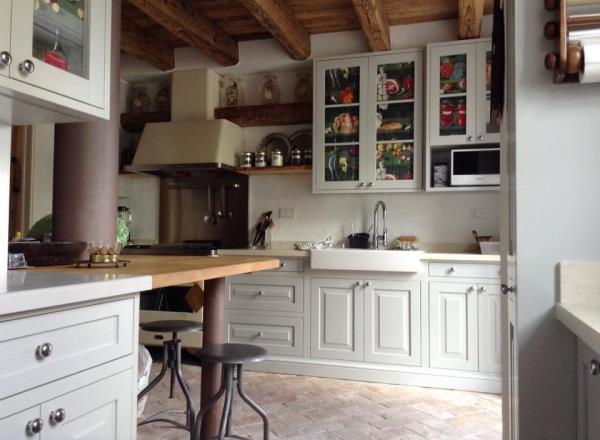cucine in legno su misura Cortina d'Ampezzo