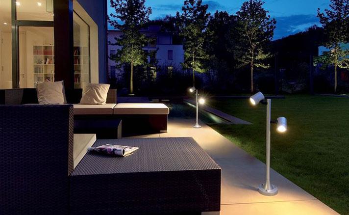 impianti illuminazione per esterni Medio Campidano