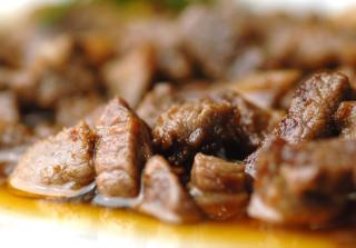 Ristorante menù di carne