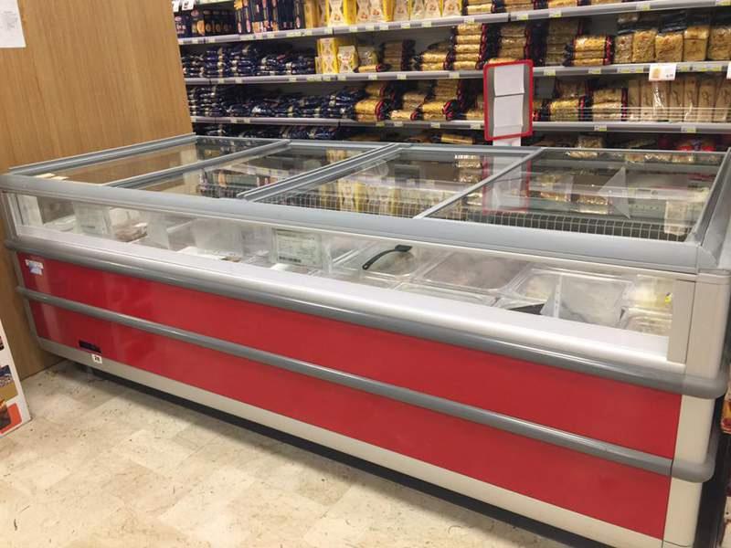 Coperture push per banco frigo -  R.Mosca Refrigerazione (PA)