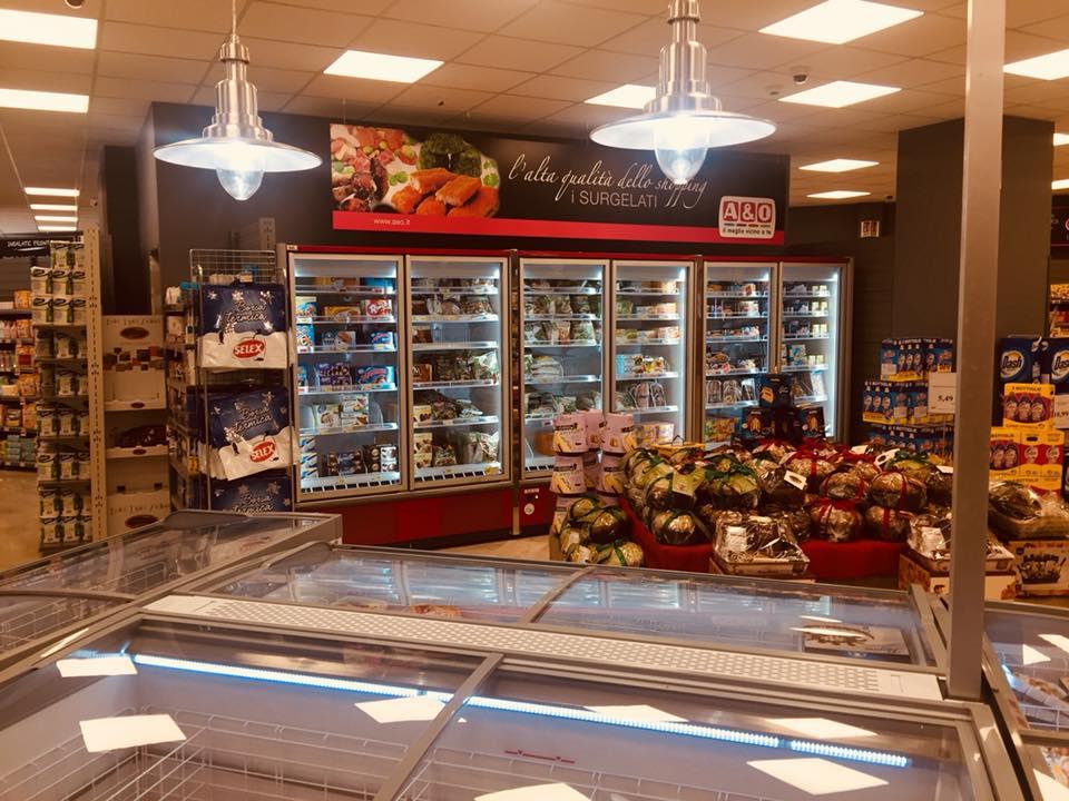 Lavori svolti da A&O Supermercati - R. Mosca refrigerazione (PA)