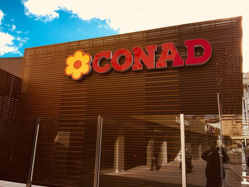 Lavori svolti da Conad - R. Mosca refrigerazione (PA)