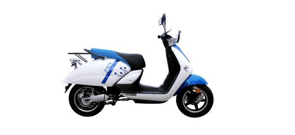 vendita scooter batterie