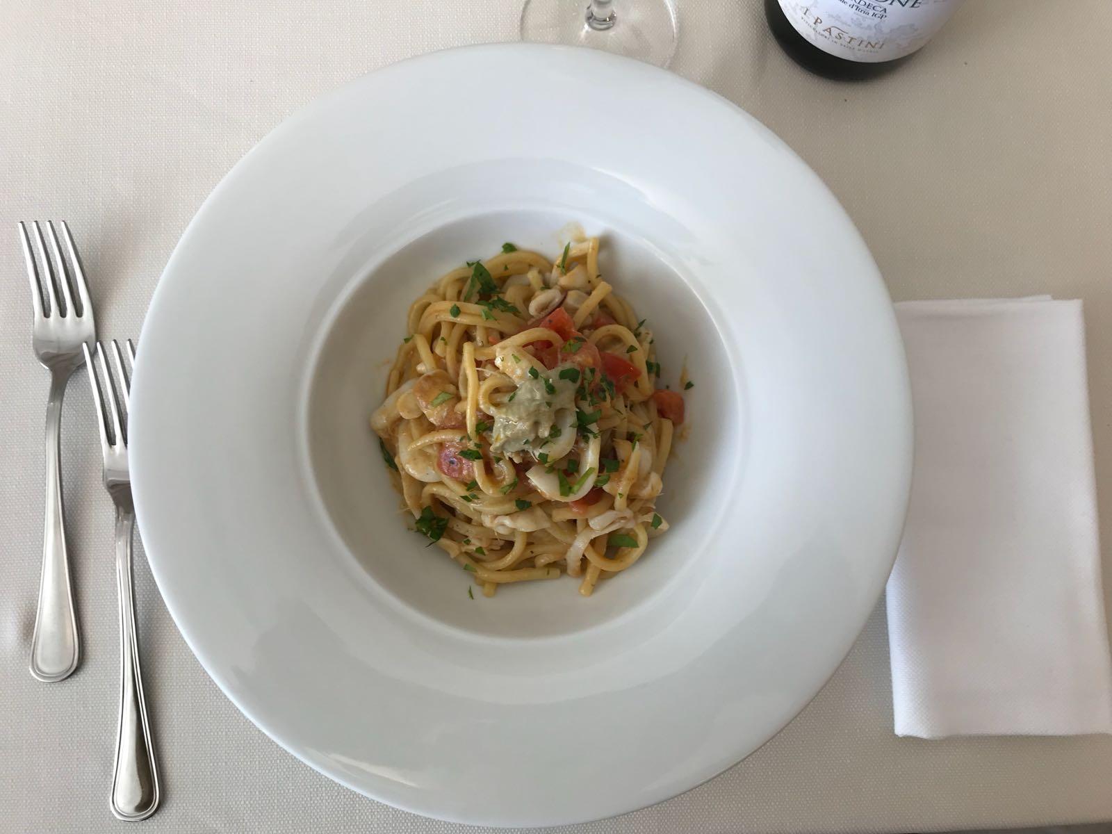 ristorante menu pesce RISTO