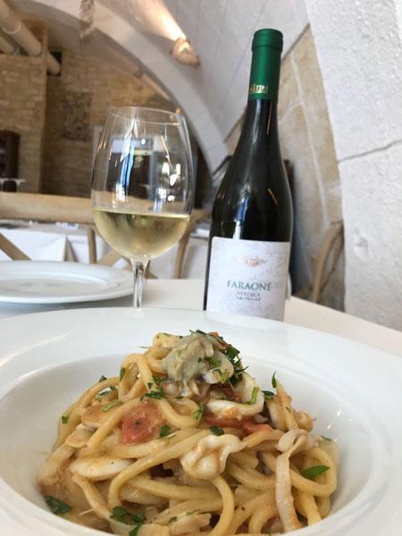 ristorante vini e pesce